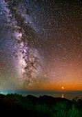 The Milky Way,Canary Islands