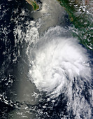 Tropical storm Hernan,2014