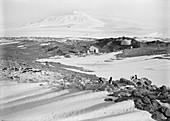 Shackleton's hut in the Antarctic,1911