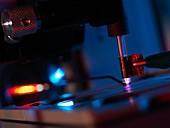 Plasma-assisted desorption ionisation