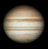 Jupiter in July 2009,HST image
