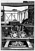 Iron ore crusher,19th century