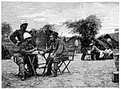 Marchand expedition across Africa,1890s