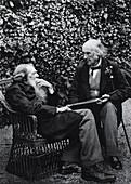John Ruskin and Henry Acland,1893