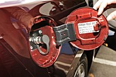 Hydrogen car fuel valve