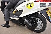 Hydrogen scooter