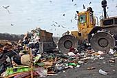 Landfill site,USA
