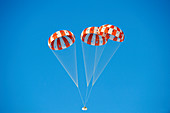 Parachute test for Orion spacecraft,2014