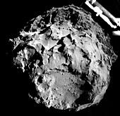 Comet Churyumov-Gerasimenko from Philae