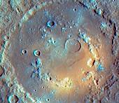 Praxiteles crater,Mercury,MESSENGER