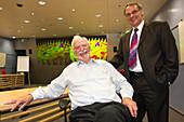 Rohrer and Binnig,IBM physicists