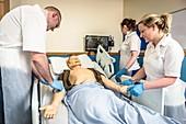 Acute care and resuscitation training