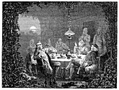 Lunar Society meeting,18th century