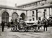 La Petite locomotive,historical image