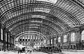Berlin Anhalter Bahnhof,Germany,1880