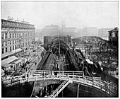 Construction of the Paris Metro,France