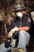 11 September rescue worker,2001