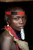 Woman of the Dassenech tribe