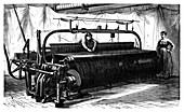 Mechanical loom,19th century