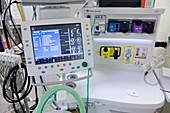 Anaesthesia monitoring machine