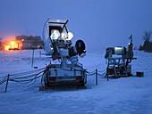GPM weather satellite ground sensor