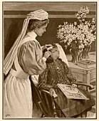 Radium birthmark treatment,1909