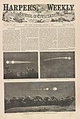 Meteor procession of 20 July 1860