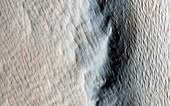 Tharsis Tholus volcano,Mars,MRO image
