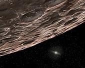 Kuiper Belt object,illustration