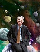 Carl Sagan,US astronomer