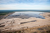 tailings pond,Fort McMurray,Canada