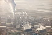 Air pollution from Syncrude tar sands