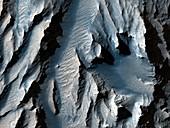 Tithonium Chasma,Mars,MRO image