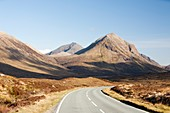 The Cuillin mountains and Glamaig,UK