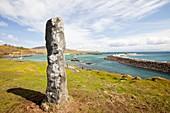 Standing stone on Eigg,UK