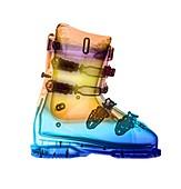 Ski boot,X-ray
