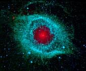 Helix nebula,space telescope image