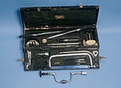 Field surgeon's set,circa 1800