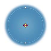 Helium,atomic structure