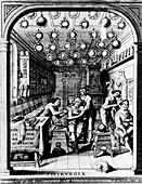 Barber-surgeons,17th century