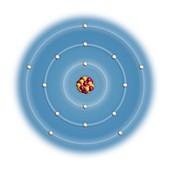 Phosphorus,atomic structure