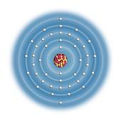 Technetium,atomic structure