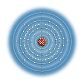 Radium,atomic structure