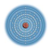 Thorium,atomic structure