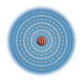 Nobelium,atomic structure