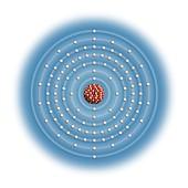 Copernicium,atomic structure