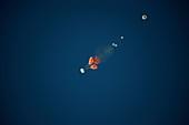 Orion spacecraft landing test