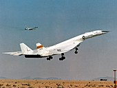XB-70 Valkyrie supersonic test bomber