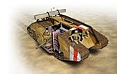 Mark IV tank,illustration