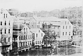 Slater cotton mill,19th century
